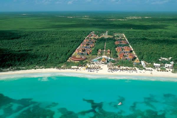 Vista Aerea De Playa Maroma Hotel